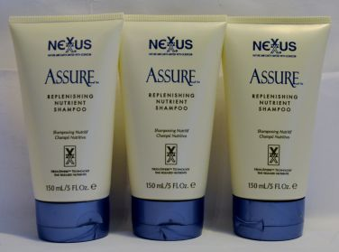 NEXXUS Assure Replenishing Nutrient Shampoo 5 oz (3 pack)