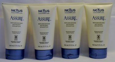 NEXXUS Assure Replenishing Nutrient Shampoo 5 oz (4 pack)