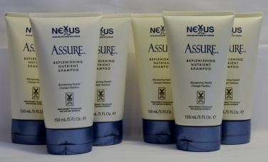 NEXXUS Assure Replenishing Nutrient Shampoo 5 oz (6 pack)