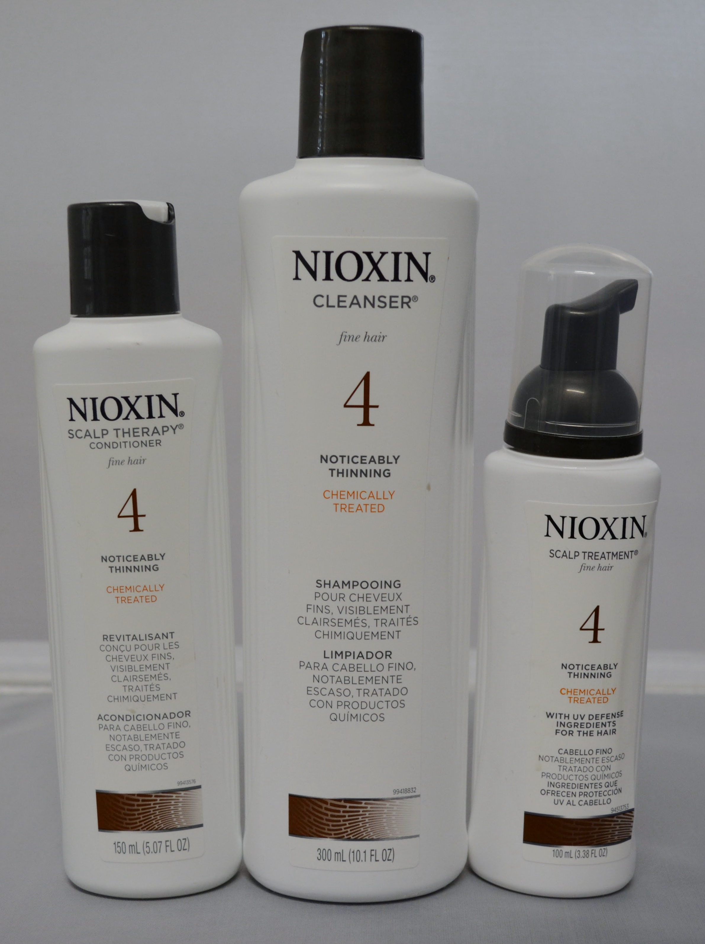 Nioxin Hair System Kit 4 Cleanser Scalp Therapy And Scalp