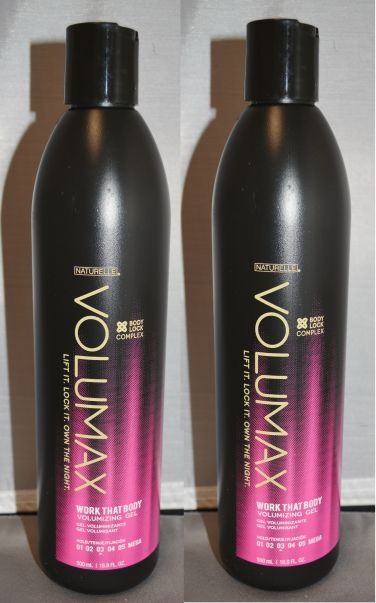 Naturelle Volumax Volumizing Styling Gel 16.9 oz (2 pack)