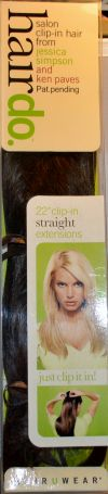 Hairdo 22 Inch Chocolate Copper Straight Clip-In Extension