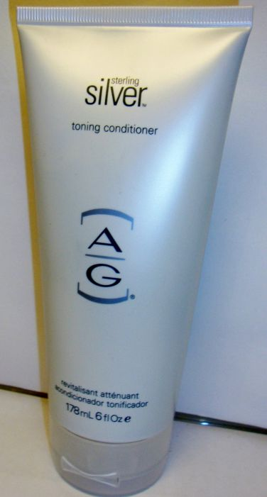 AG Hair Cosmetics Sterling Silver Toning Conditioner 6 oz