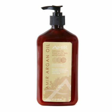 Amir Argan Oil Touch of Tan Moisturizer 18oz