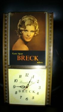 Antique Promotion Electric Breck Hair Clock