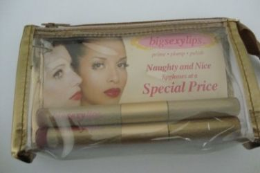 Big Sexy Lips Naughty and Nice Lipgloss 1each