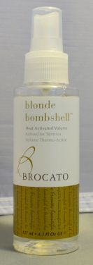 Brocato Blonde Bombshell Heat Activated Volume 4.3 oz