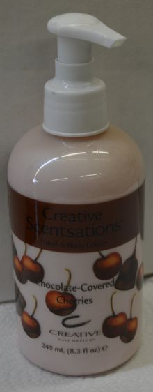 CND Creative Scentsations Lotion Chocolate-Covered Cherries 8.3 oz