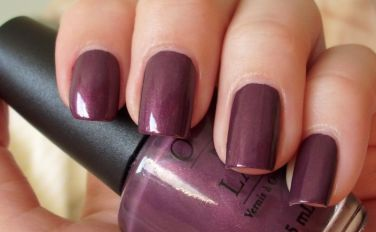 OPI Catherine The Grape Nail Polish