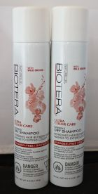 Biotera invisible Color Care Dry Shampoo 4.5oz (2 Pack) Paraben-Free
