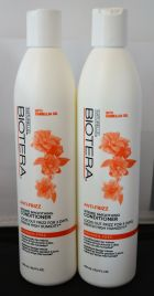 Biotera Anti-Frizz Intense Smoothing Shampoo and Conditioner Set 15.2oz Paraben-Free