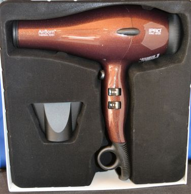iPRO AirBorn Professional Tourmaline Thermal Ionic Hair Dryer