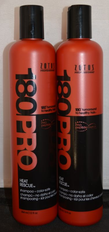180 Pro Heat Rescue Shampoo 12oz (2 pack) - Color Safe