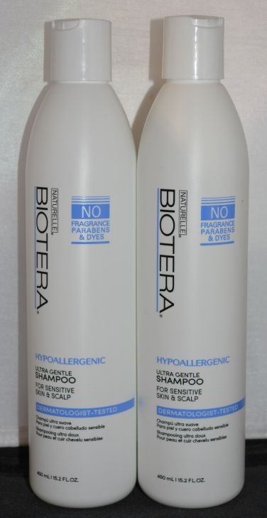 Biotera Hypoallergenic Ultra Gentle Shampoo Set (2 pack) 15.2oz each