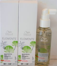 Wella Professional ELEMENTS Hair Strengthening Serum 3.38 oz (100 ml)-- 2 pack