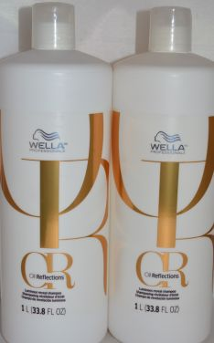 Wella Professionals Oil Reflections Luminous Reveal Shampoo 33.8 oz - 2 pack-Total 67.6 oz