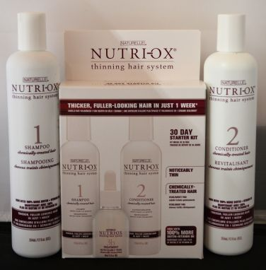 Naturelle Nutri-OX 30 Day Starter Kit for Chemically Treated Noticebly Thin Hair PLUS an Extra Shampoo & Conditioner