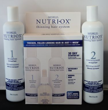 Naturelle Nutri-Ox 30 Day Starter Kit for Noticeably Thin Hair PLUS and Extra Shampoo and Conditioner