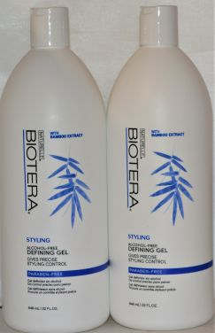 Biotera Styling Gel Paraben & Alcohol Free Defining Gel (32 oz) 2 Pack Total (64 oz)