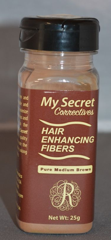 My Secret Hair Enhancing Fibers Medium Brown 25g