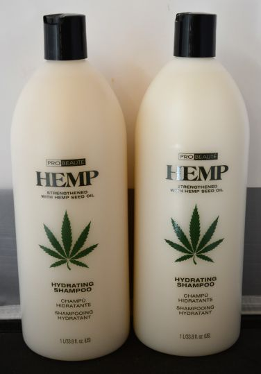 Hemp Hydrating Shampoo 33.8oz Balances Moisture Levels (2 pack)