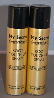My Secret Hair Root Touch-Up Spray Dark Brown 2oz (2 Pack)