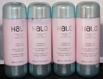 Halo Illuminating Color Protection Volumizing Conditioner 10oz (4 Pack) Total = 40oz