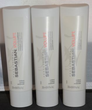 Sebastian Volupt Professional Volume Boosting Conditioner 8.45oz (3 pack)
