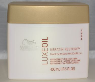 Wella Luxe Oil Keratin Restore Masque 13.5oz - Reconstructs the Hair Fiber