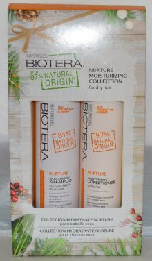 Bioter Natural Origins Nurture Moisturizing Collection for Dry Hair - Includes Shampoo & Conditioner