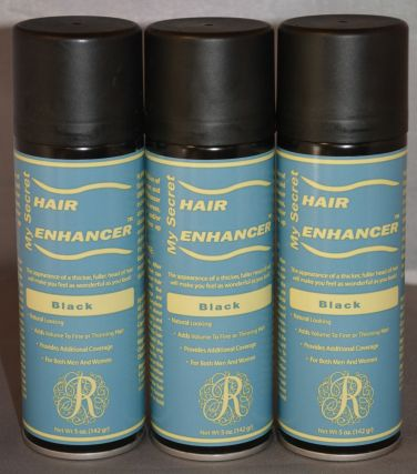 My Secret Hair Enhancer Black (3 Pack)