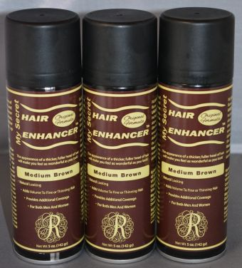 My Secret Hair Enhancer Medium Brown (3 Pack)