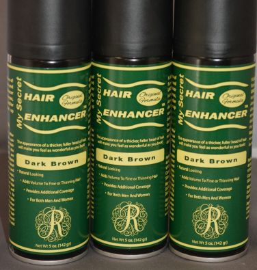 My Secret Hair Enhancer Dark Brown (3 Pack)