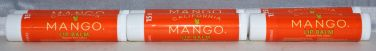 California Mango Lip Balm .15oz (6 pack) SPF 15