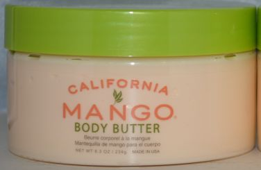 California Mango Body Butter 8.3oz - Vegan Formula