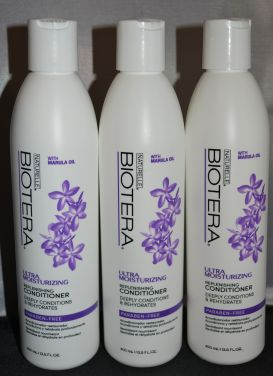 Naturelle Biotera Ultra Moisturizing Replenishing Conditioner 13.5 oz (3 pack) Total = 40.5oz