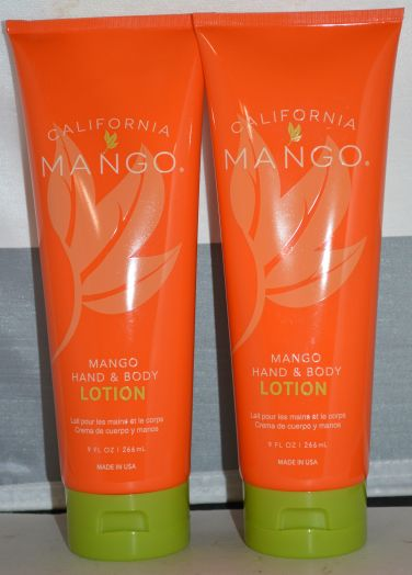 California Mango Hand & Body Lotion 9 oz (2 pack)