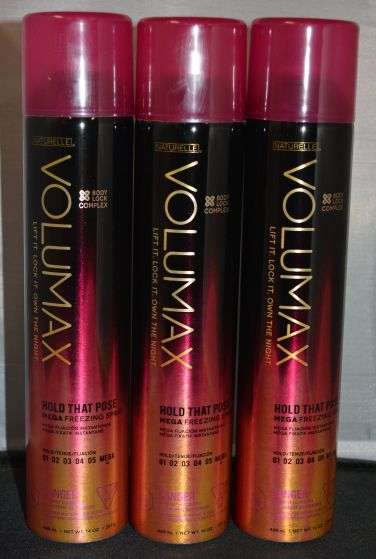 Naturelle Volumax Hold That Pose Mega Freezing Spray 14 oz (3 pack)