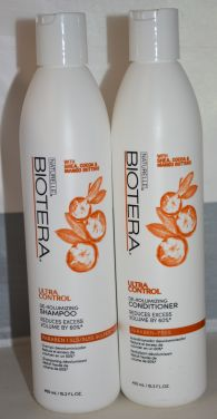 Biotera Ultra Control De-Volumizing Shampoo & Conditioner Set 15.2oz each - Paraben Free