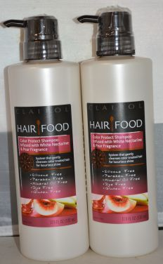 Clairol Hair Food Color Protect Shampoo 17.9oz (2 pack) Silicone Free