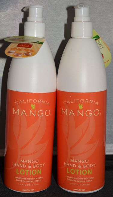 California Mango Hand & Body Lotion 16.9 oz (2 pack)