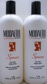 Modafini Spruzzo Firm Hold Design Spray 33.8oz (2 pack)