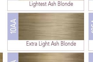 ISO I.Color Extra Light Ash Blonde 10AA (10.2) Permanent Hair Color Creme 2oz (3 pack)