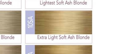 ISO I.Color Extra Light Soft Ash Blonde 10SA (10.9) Permanent Hair Color Creme 2oz (3 pack)