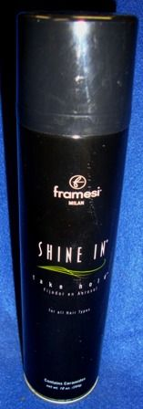 Framesi Shine In Take Hold Hairspray 10oz