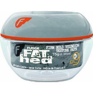 Fudge Fat Hed Firm Hold Volumizing Texture Paste .88oz