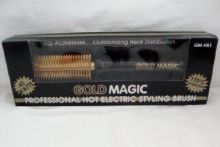 Gold Magic Professional Hot Electric Styling Brush