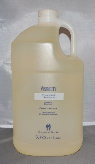 Graham Webb Visibility Clarifying Shampoo 1 Gallon/128 oz with Pump