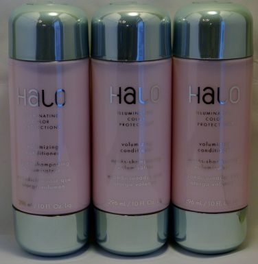 Halo Illuminating Color Protection Volumizing Conditioner 10oz (3 Pack) Total = 30oz