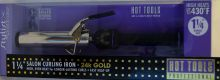 "Hot Tools Professional Salon Spring 24K Gold Curling Iron 1-1/4"" 1110"